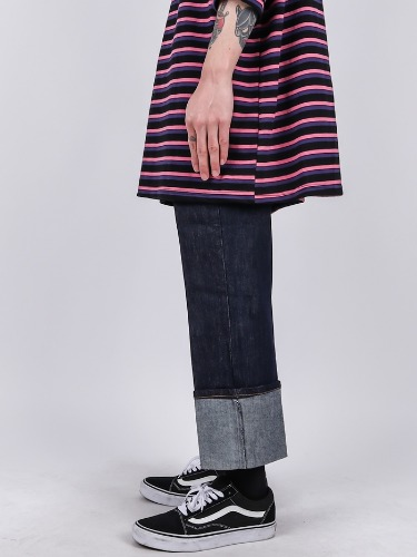 DR 22 Roll-up Wide Jeans