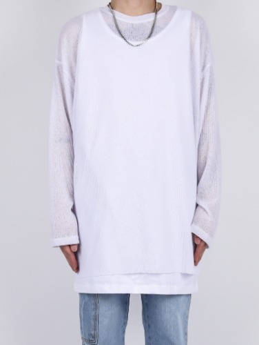 SG Summer Mesh Long Sleeved Tee (4color)