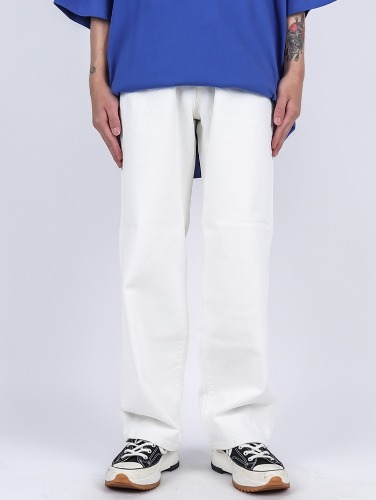 TR 05 White Wide Jeans