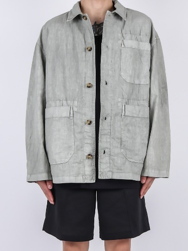 JK Linen Cover All Jacket (2color)