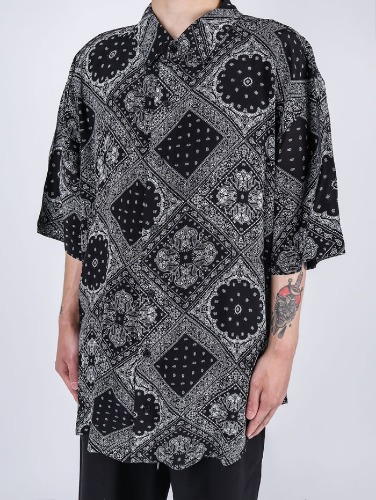 SG Paisley Short-Sleeved Shirt (2color)