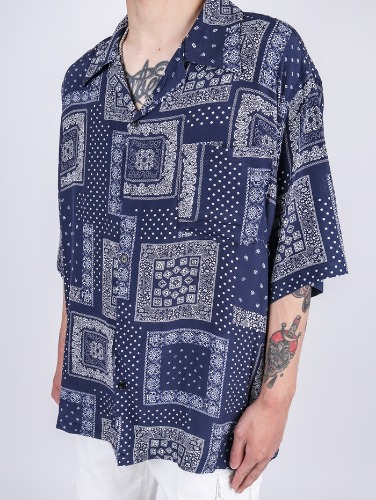 EV 93 Paisley Short Sleeve Shirt (2color)