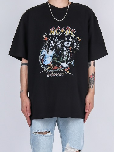 SC ACDC Concept Short-Sleeved Tee (2color)
