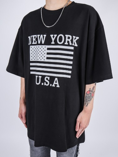 PG NY Short Sleeve Tee (3color)