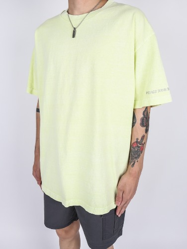 PC Pig Washing Short Sleeves (3color)