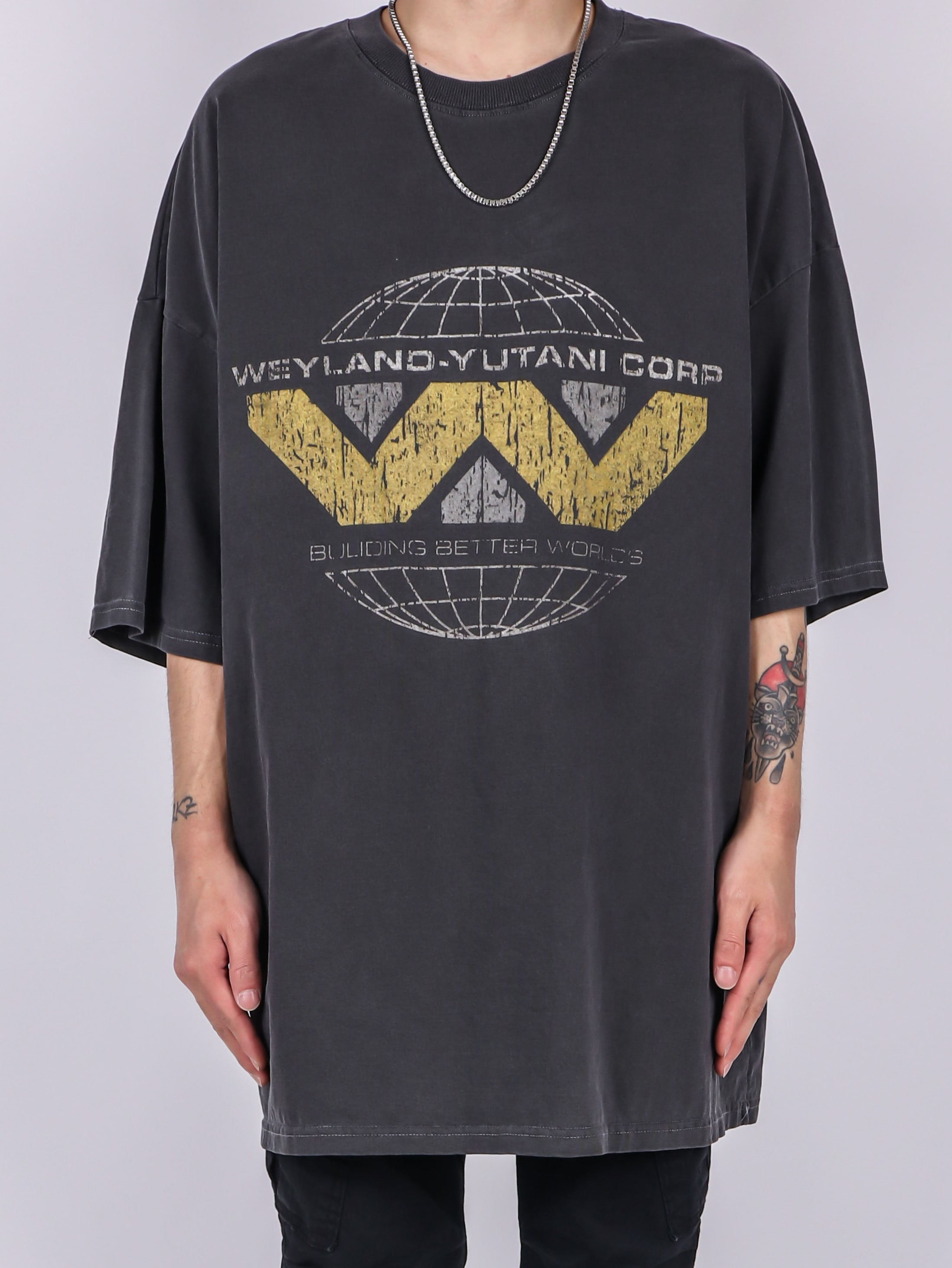 NU World Dying Short Sleeve Tee (3color)