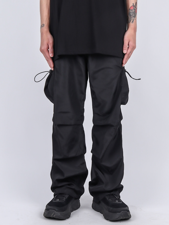 DR String Burning Pocket Cargo Pants (2color)