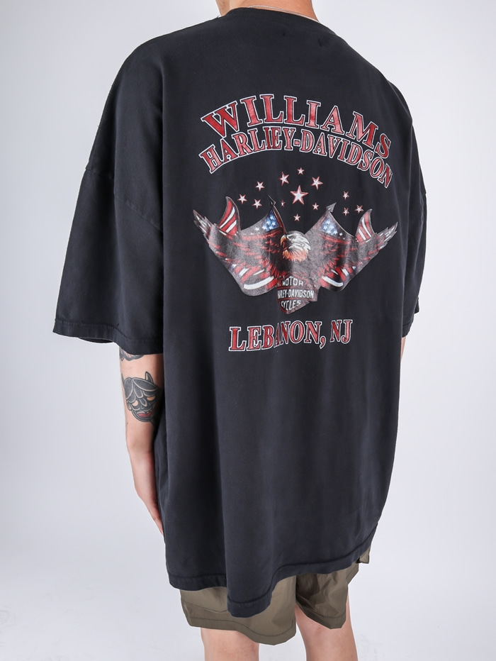 LY Williams Harley Dying short sleeve tee