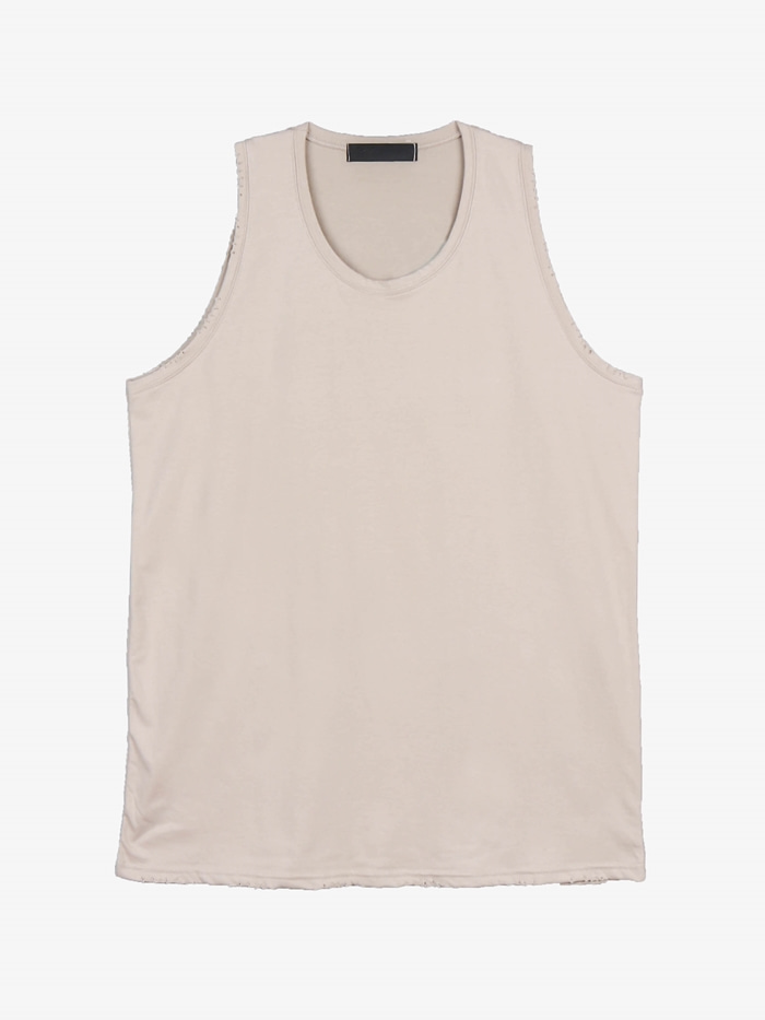 SN layered relief sleeveless (7color)
