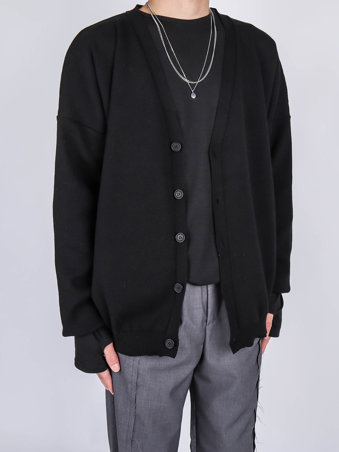 DR Course Basic Cardigan (4color)