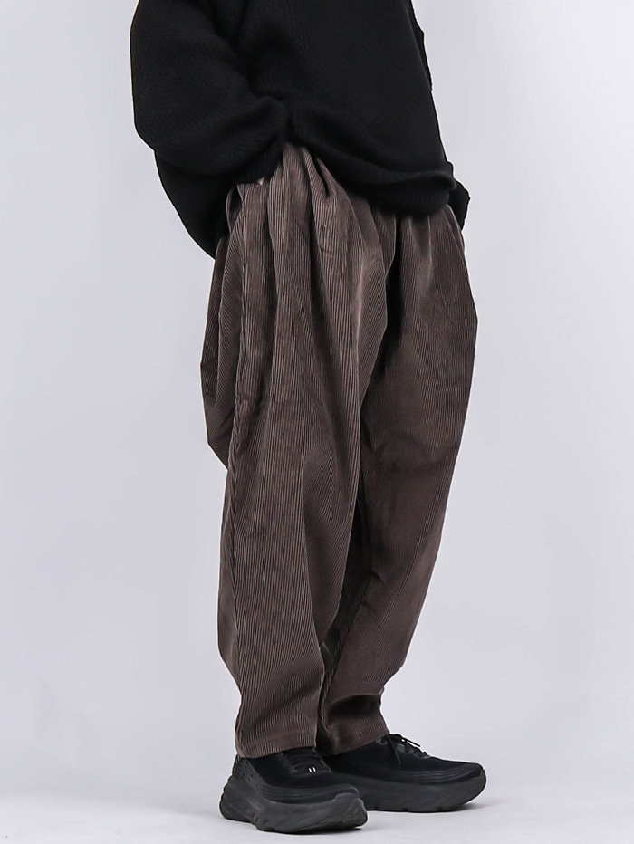 WA Corduroy Balloon Pants (2color)