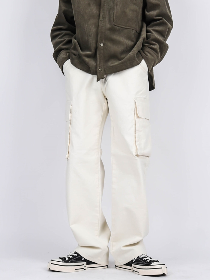 TR 24 Jo Cargo Wide Pants (3color)