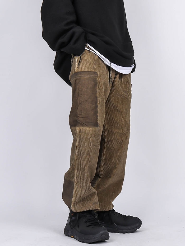 PA Corduroy Washing Cargo Pants (3color)