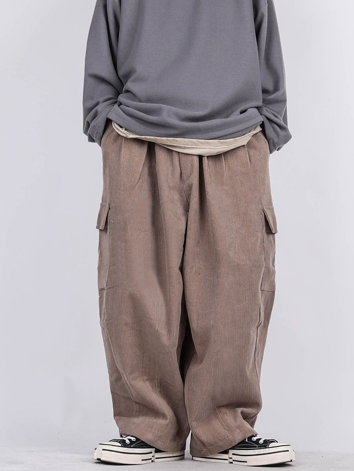 RU Corduroy Balloon Pants (2color)