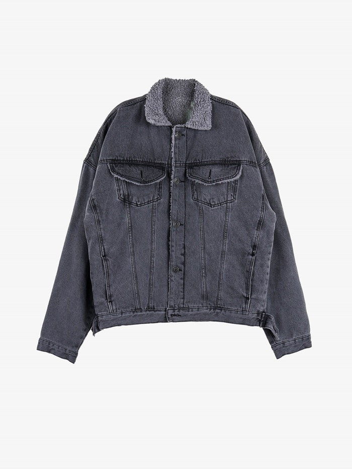 PM 03 Arc Fleece Denim Jacket (2color)