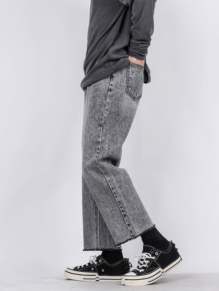 PM 78 Crop New Gray Jeans