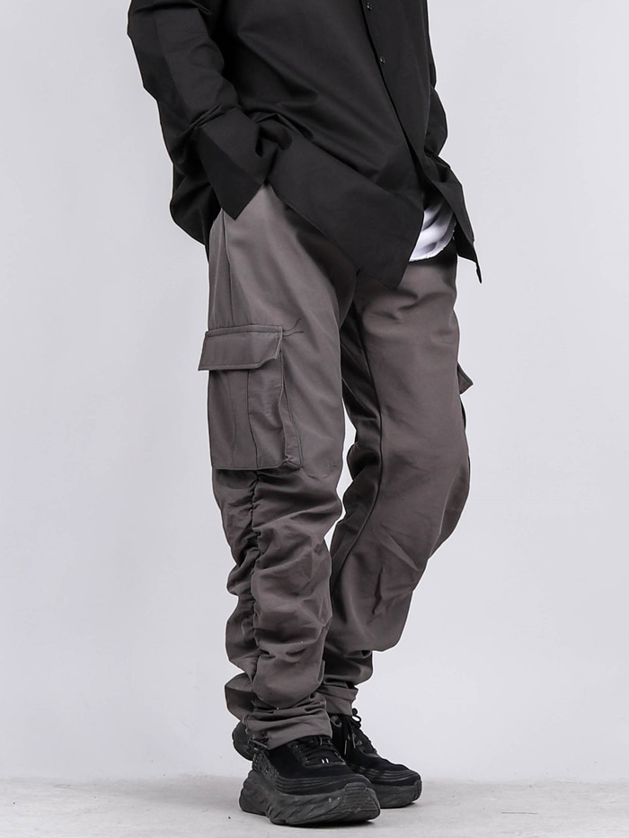 GE Shirring Cargo Pants (2color)