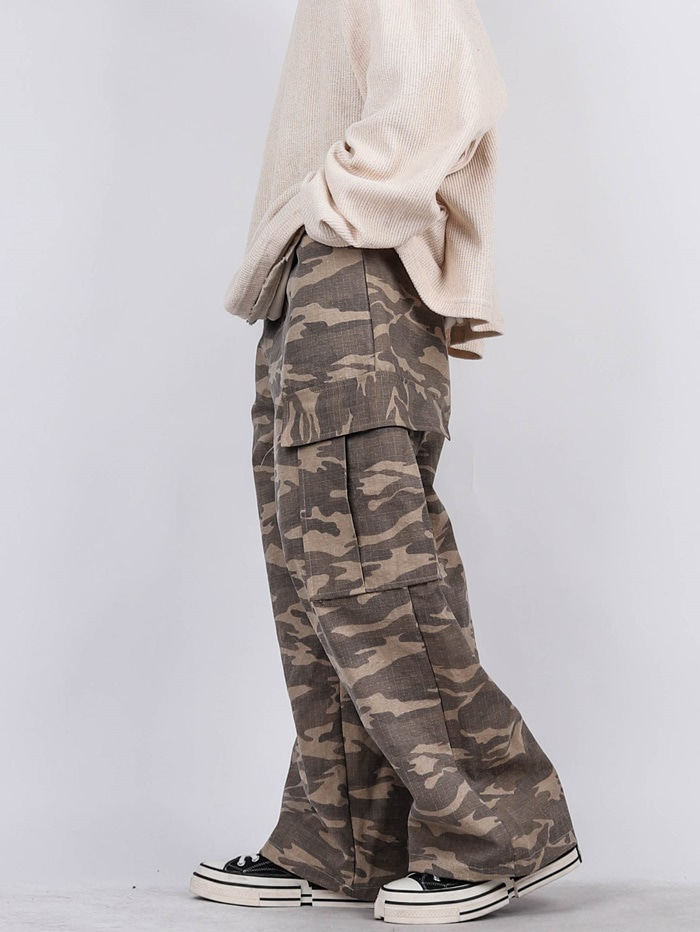 PG Military Bio Wide Cargo Pants (3color)