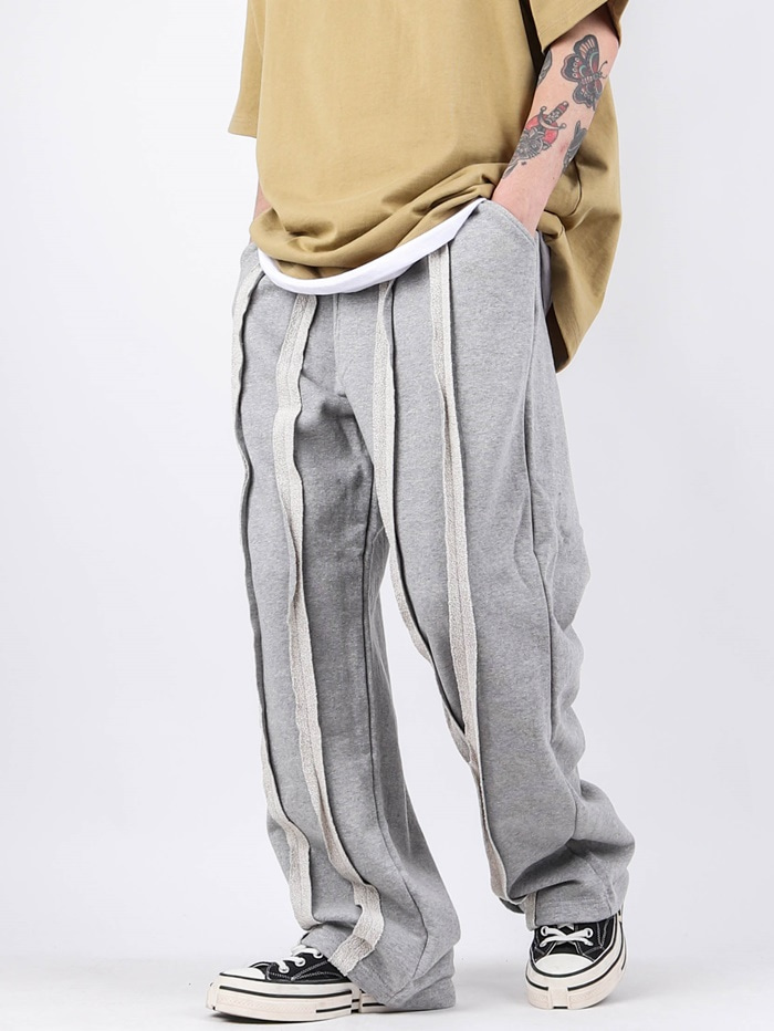 SC Front Cut Wide Training Pants (2color)