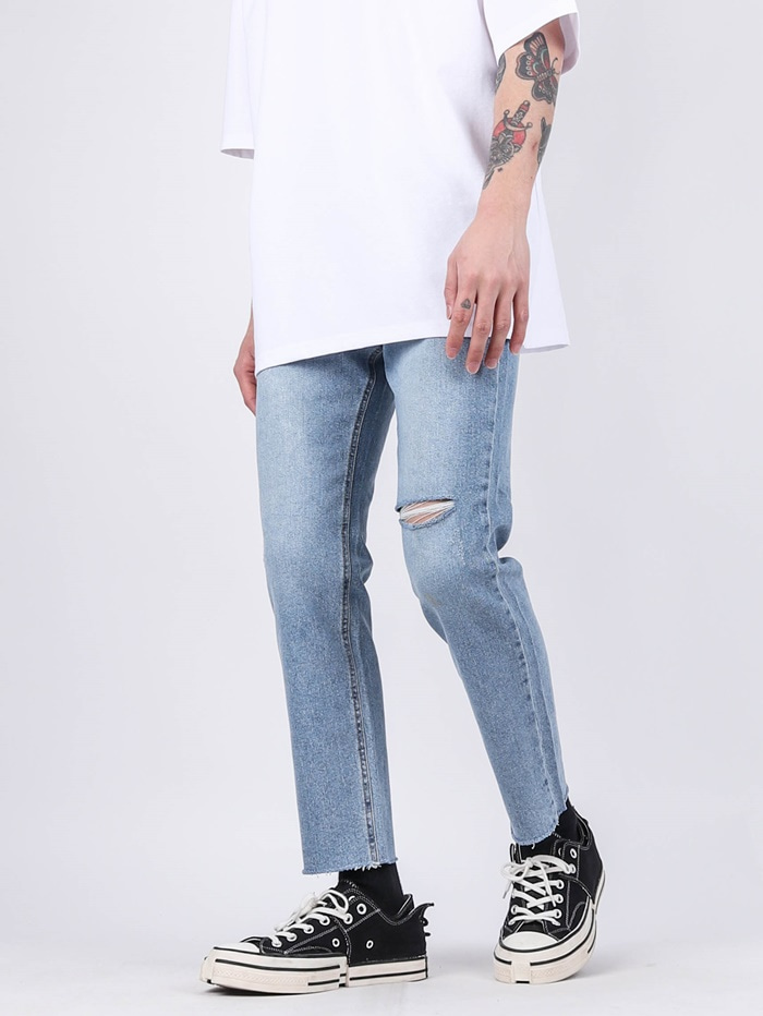 PM 82 Cutting Crop Jean
