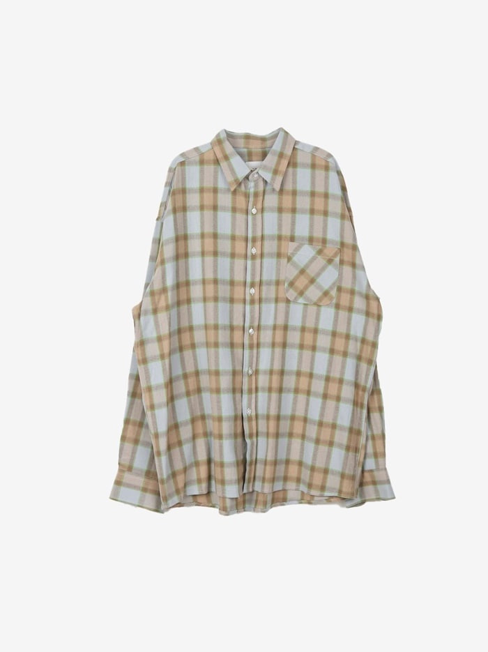 PP Modern Check Shirt (2color)