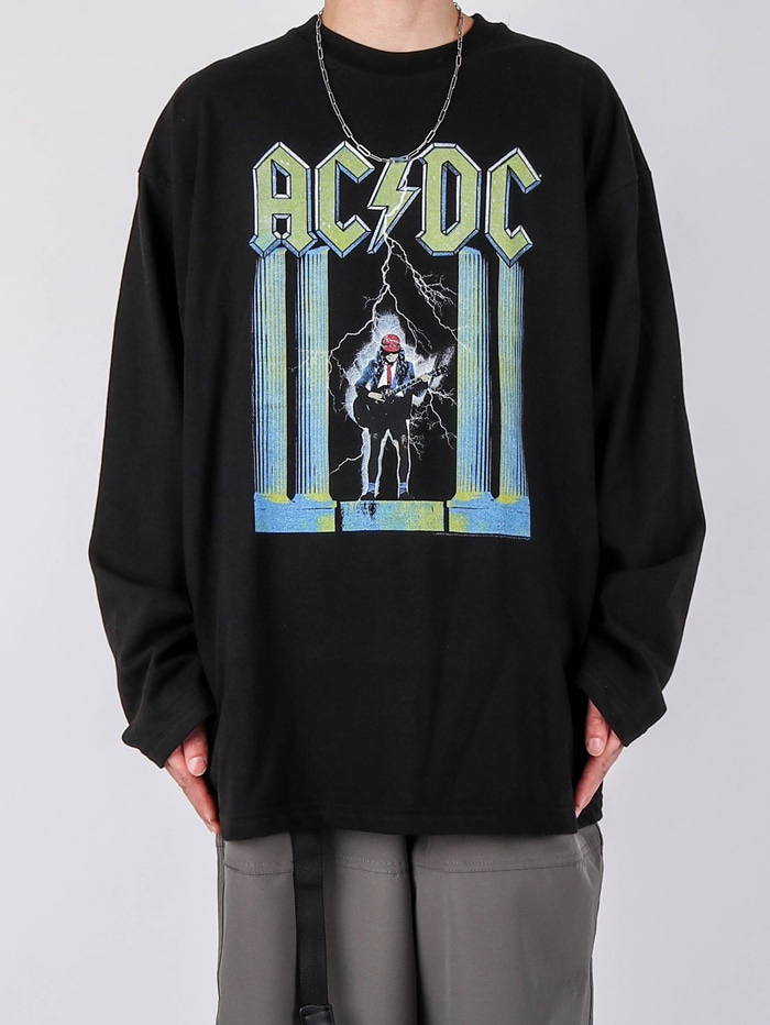 AC Yellow ACDC Long Sleeve