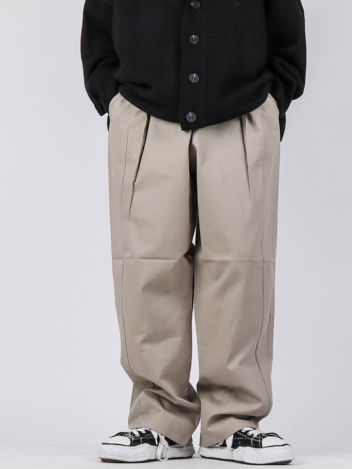 NT Obi Tuck Pants (2color)