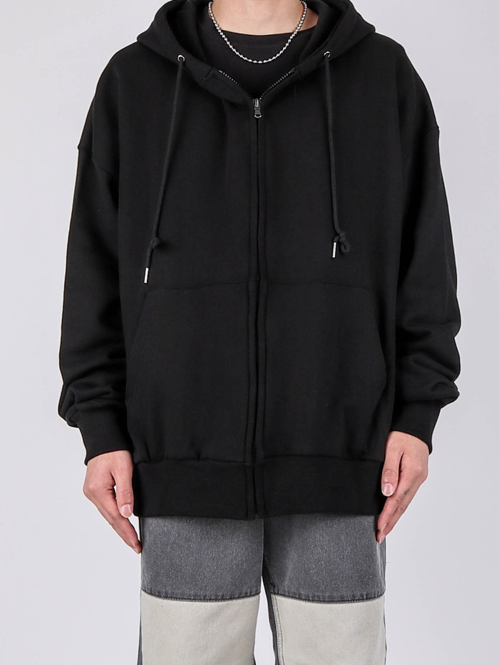 KS Basic Hood Zip-up (4color)