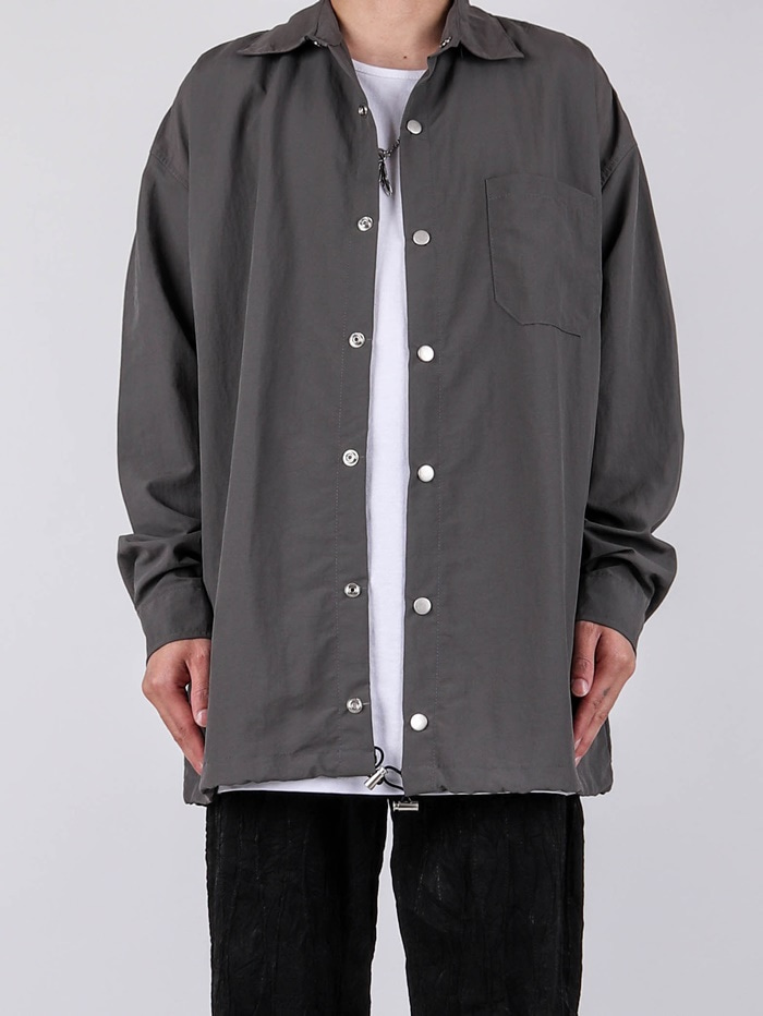 NB Nylon Shirt Jacket (3color)