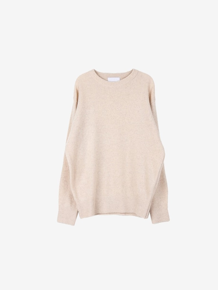 LY Wool Cash Round Knit (6color)
