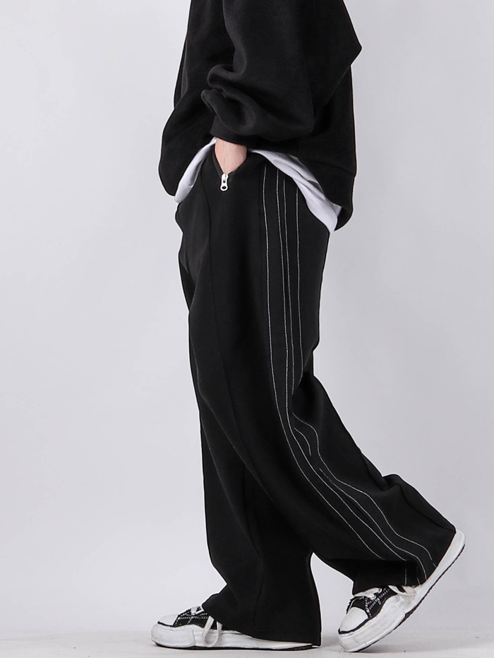 NT Wide Stretch Track Pants (2color)