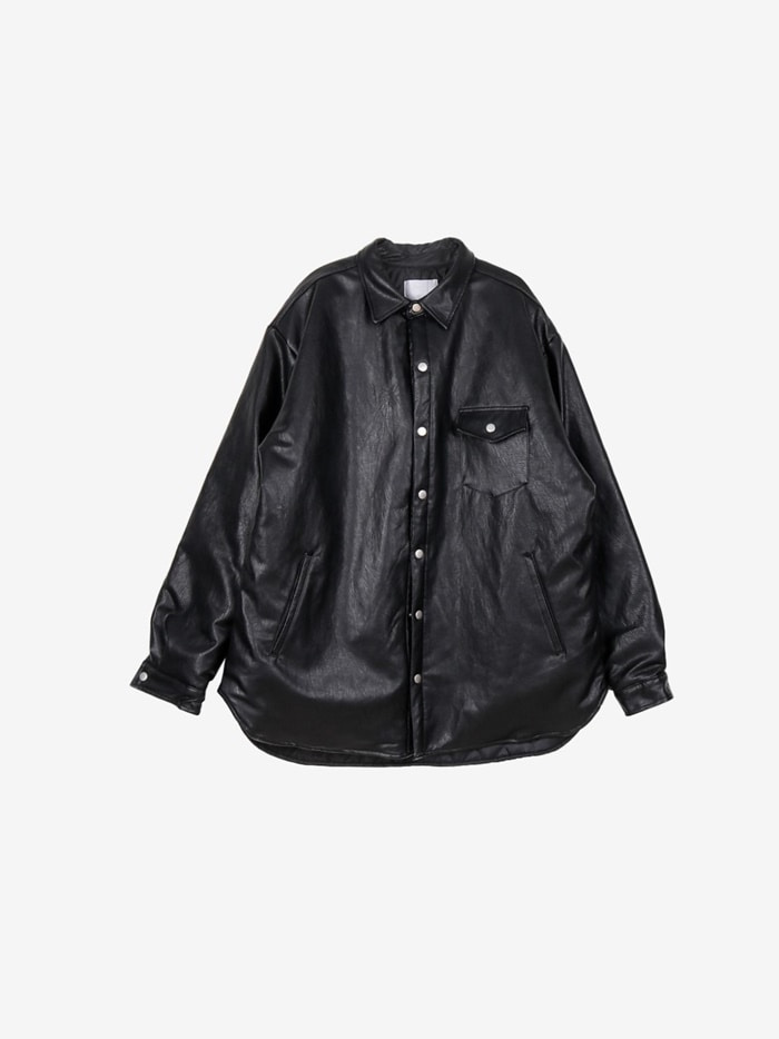 IV Decoy Leather Jacket