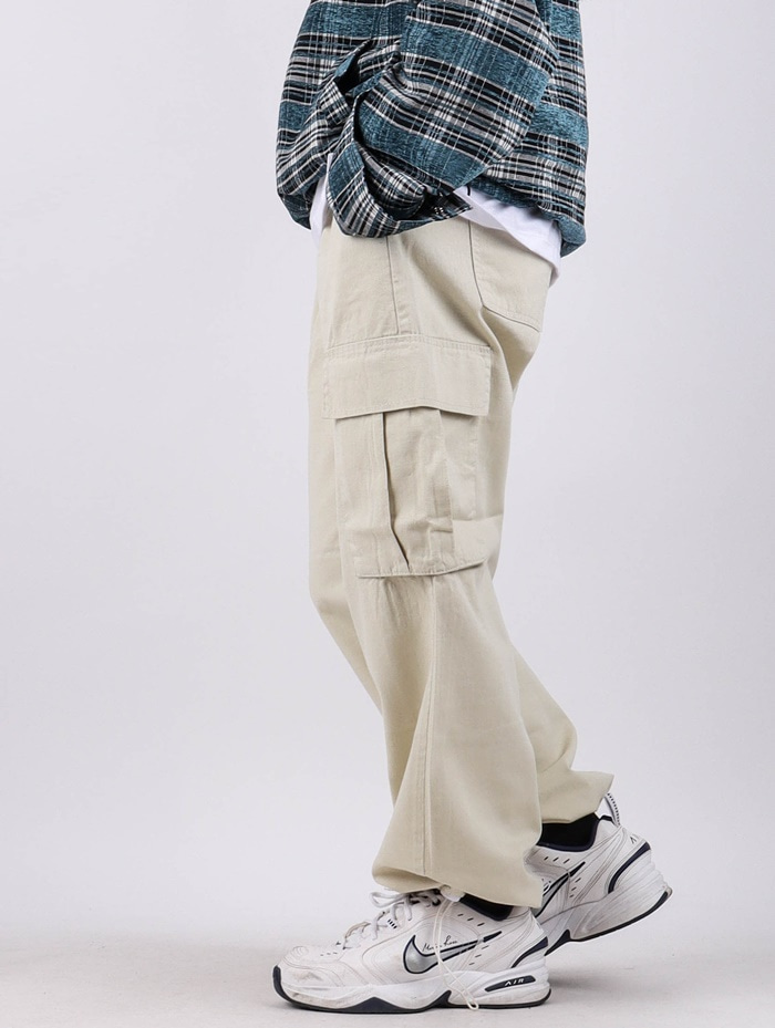 PM 74 String Cargo Pants (3color)