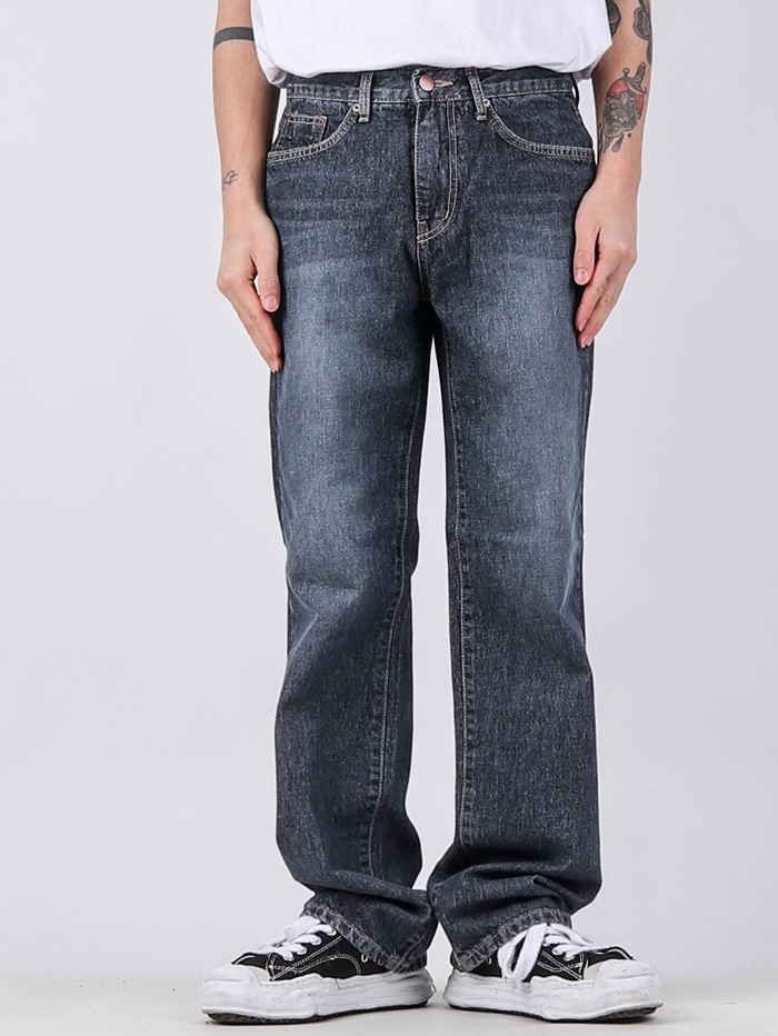 TR 64 Deep Blue Long Boot Cut