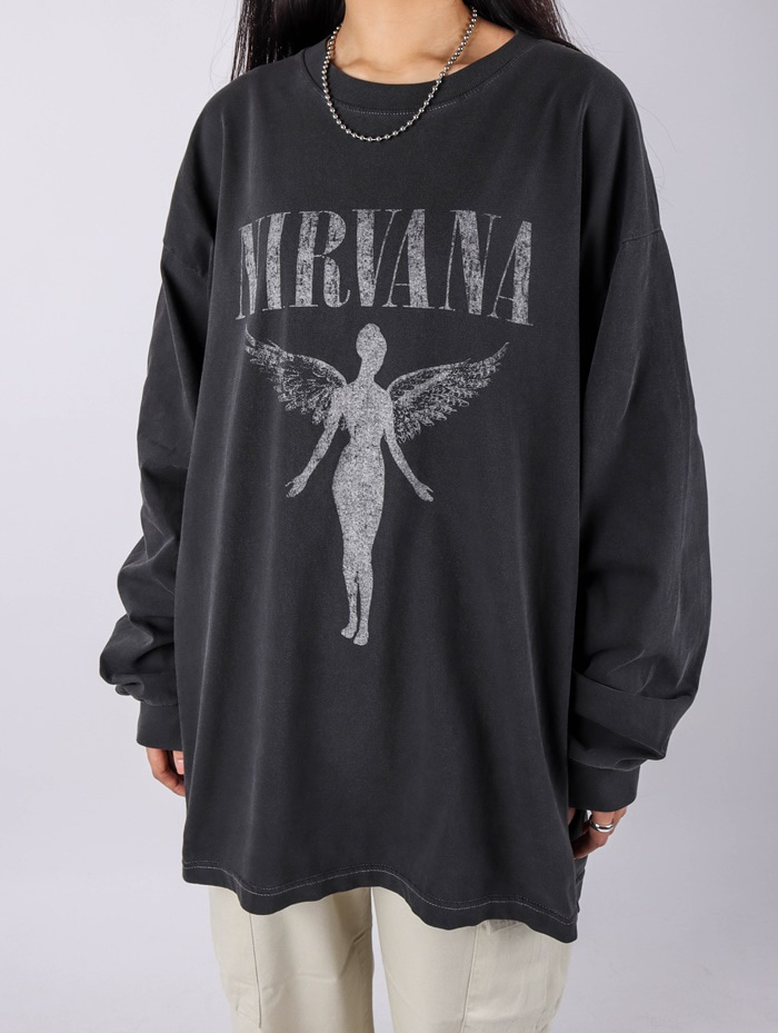 AC Nirvana Angel Tour Dying Long Sleeve (2color)