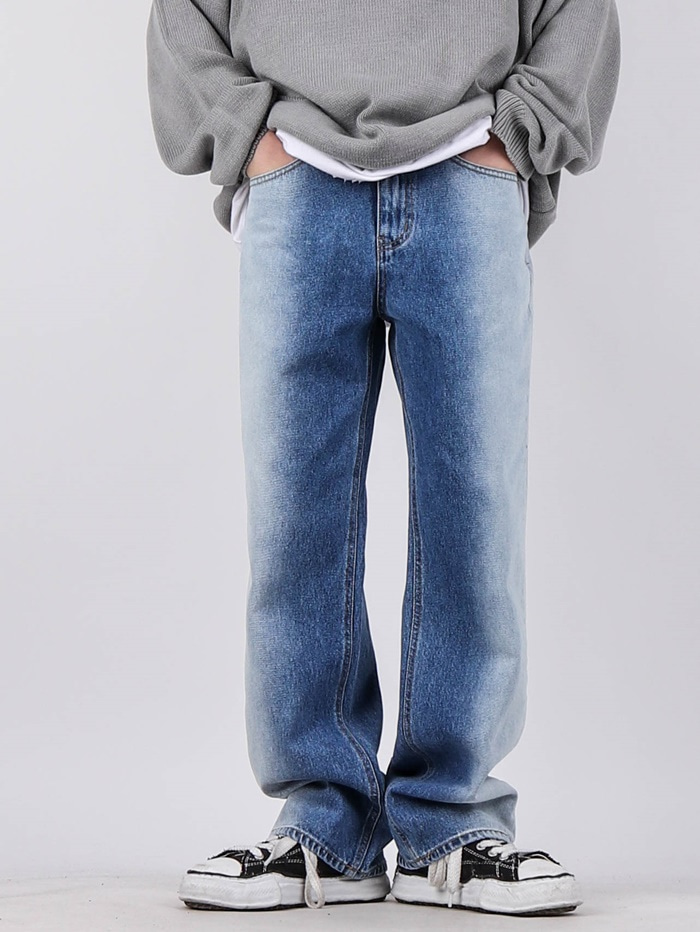 MU Side Brush Jeans (2color)