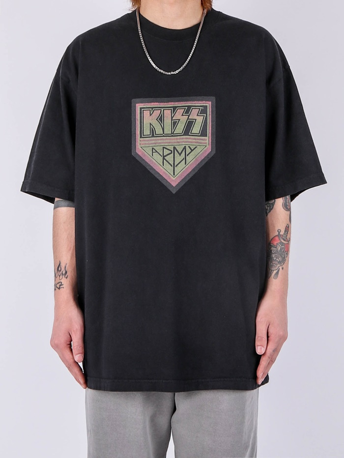 LY KISS Dying Short Sleeve Tee