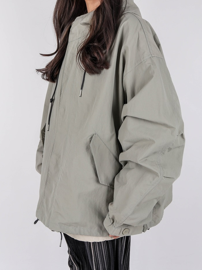 AC Nylon Hood Jacket (2color)