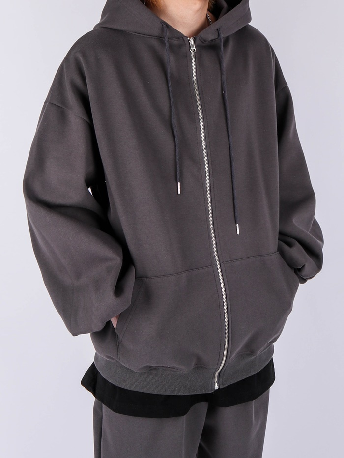 SG New Tuck Up Hood Zip Up (2color)