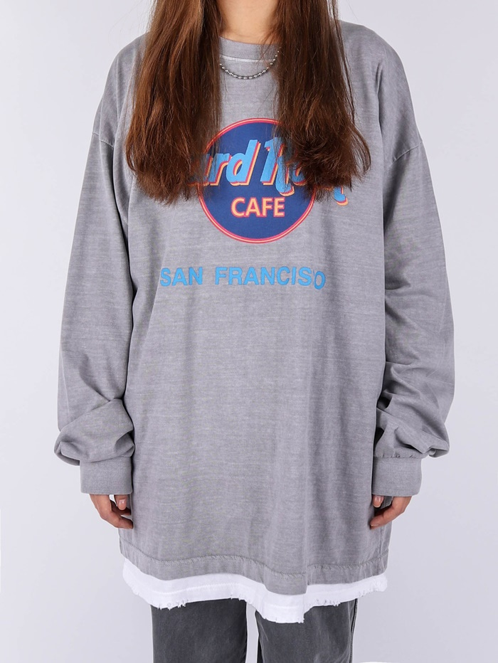 AC Hard Rock San Francisco Dying Long Sleeve Tee (2color)