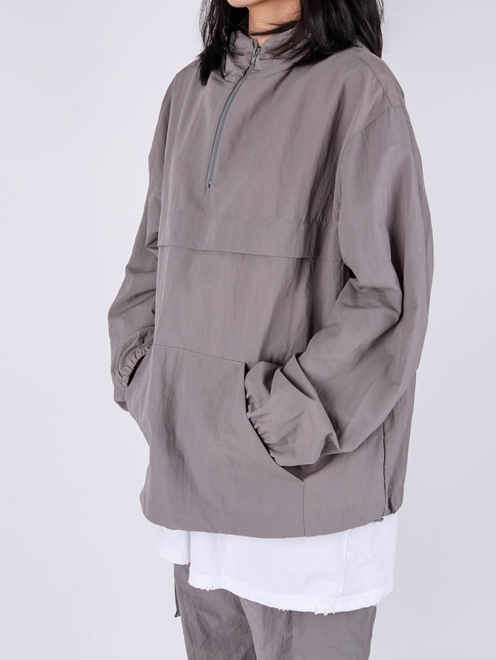 WW Set Up Nylon tring Anorak (4color)