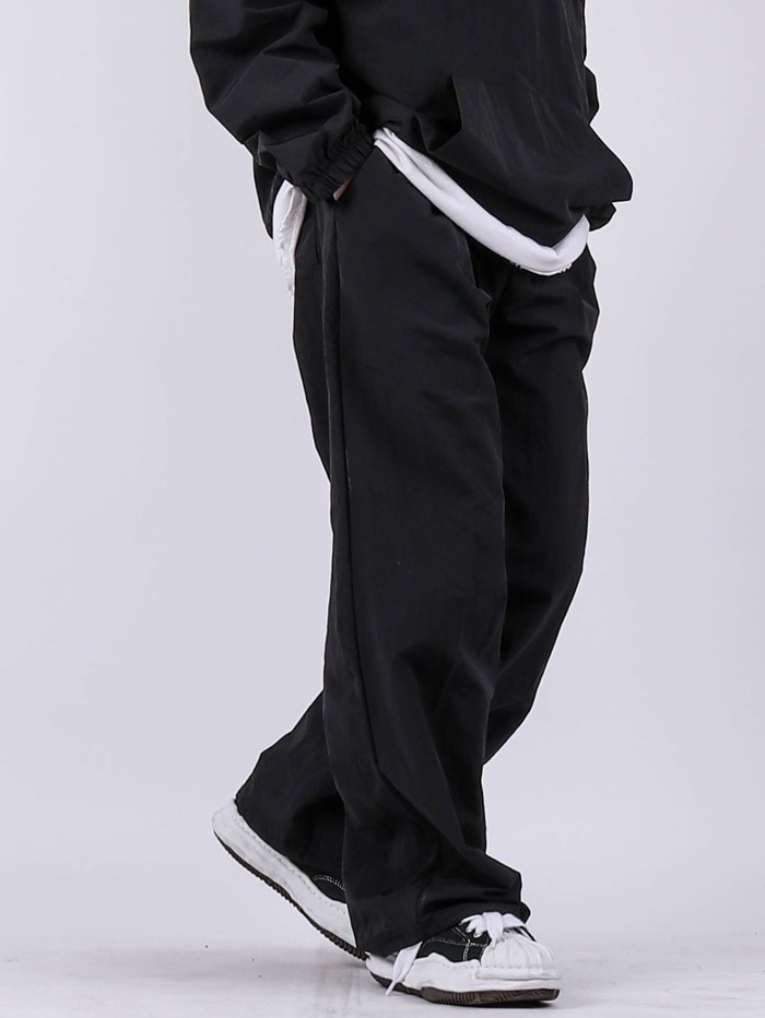 WW Set Up Nylon Wide Pants (4color)