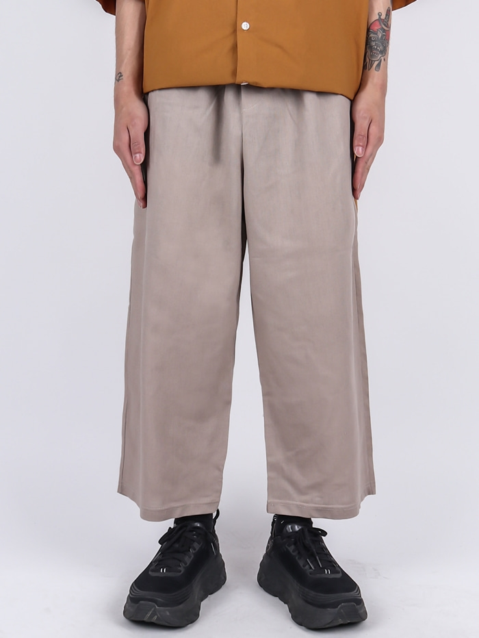 MG Linen Crop Pants (2color)