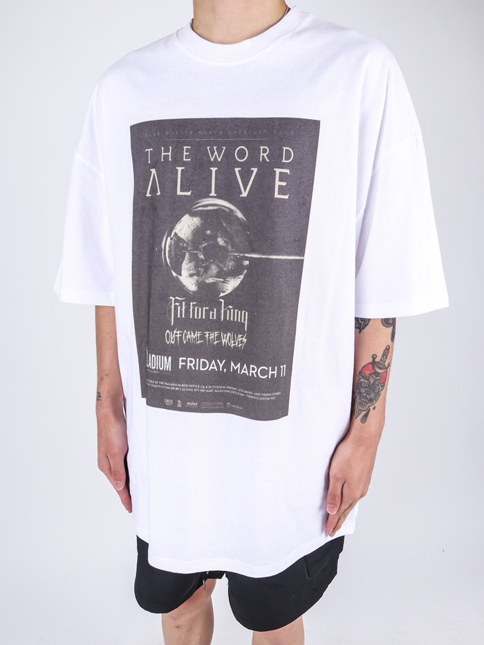FF Alive Short Sleeve Tee (2color)