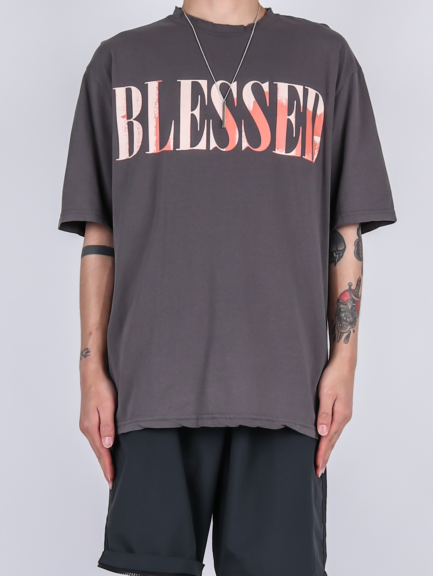 SG Blessed Short Sleeve Tee (3color)