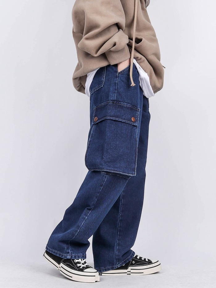 CO 57 Asymmetric Pocket Jeans