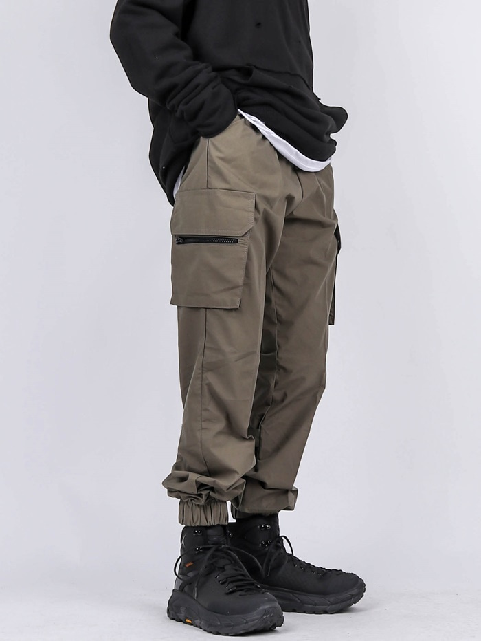 MG Zip Tech Cargo Pants (2color)
