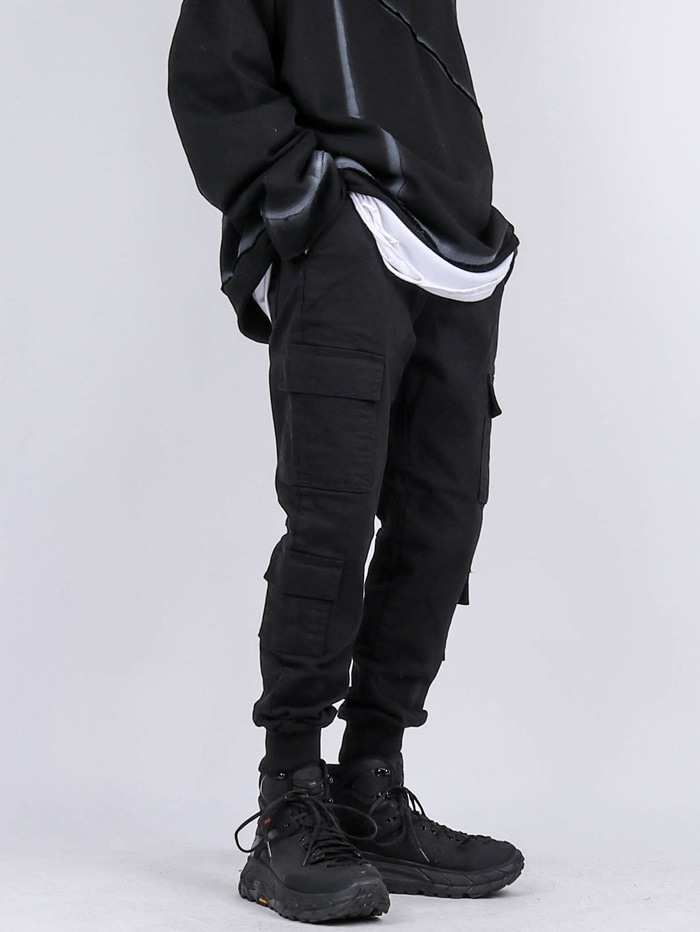 PM 14 Double Pocket Jogger Pants (2color)