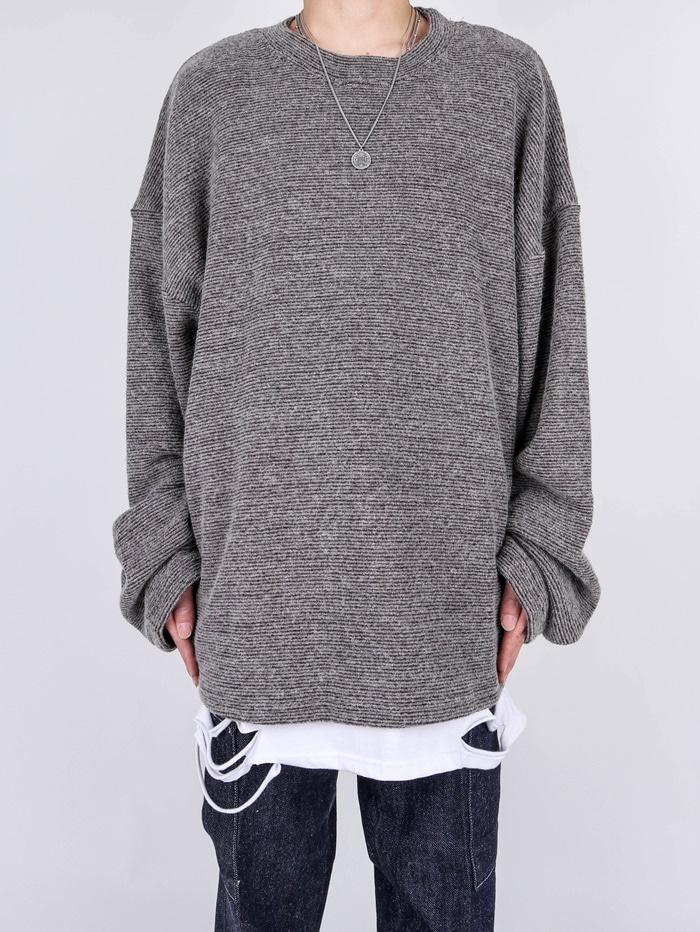NU Wool Striped Knit (3color)