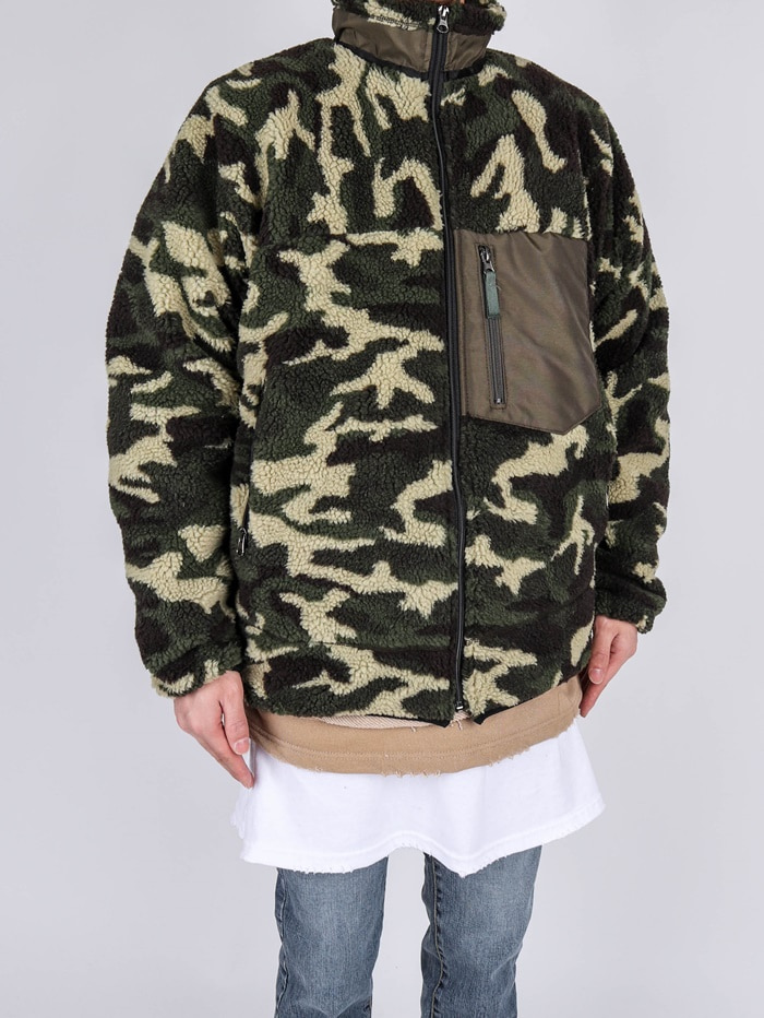 BT Rams Fleece Military Jumper